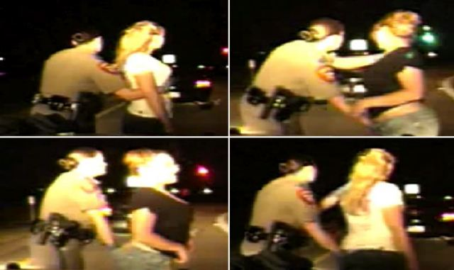 Angel Dobbs and Ashley Dobbs violated by female state trooper Kellie Helleson