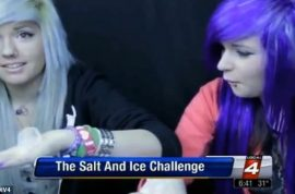 Have you tried the salt and ice burn' challenge yet? Pain guaranteed!