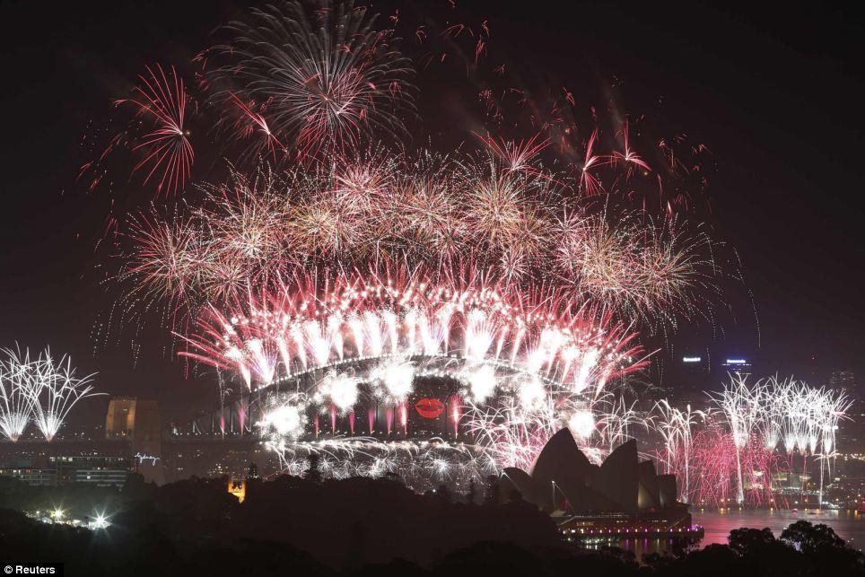 Sydney Australia new year's day