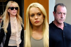 Oh no! Lindsay Lohan's bank accounts frozen by the IRS. Michael Lohan furious!