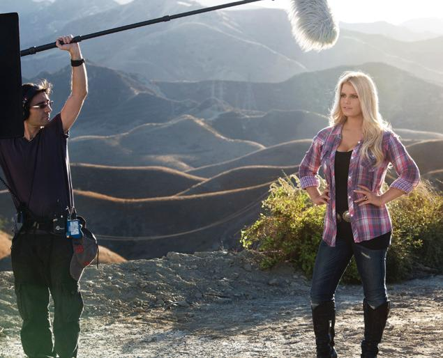 Jessica Simpson for Weight Watcher's.