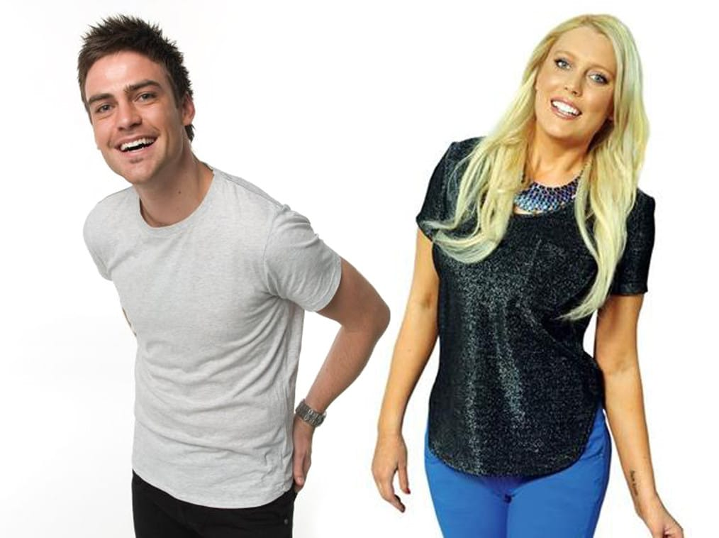 2DAY FM Aussie dj's Mel Greig and Michael Christian