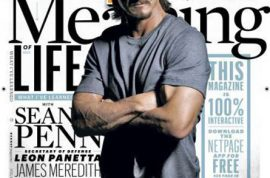 If only someone could have found the courage to actually love Sean Penn….Esquire mag explains.