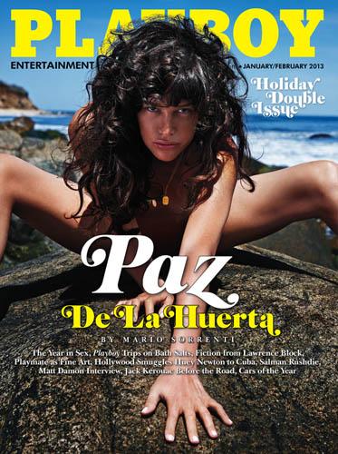 Paz de la Huerta for Playboy.