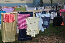 Well to do NYC suburb Great Neck, Long Island makes it illegal to hang laundry outside – because it looks 'low class.'