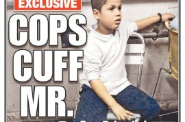 7 year old boy arrested and interrogated over $5. Lawsuit threatened.