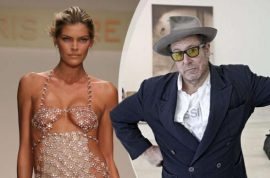 Oh really? Julian Schnabel, 61 to become father for sixth time with Victoria's Secret model May Andersen, 30.