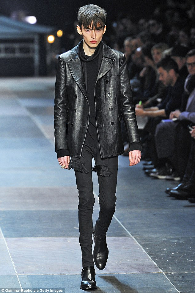 Manorexic Skinny Male Fashion Models In Paris Cause Outcry