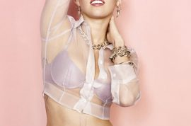 Interesting. Miley Cyrus tells Cosmopolitan magazine that she has never been squeaky clean.