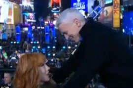 Kathy Griffin refuses to apologize about giving simulated oral sex to Anderson Cooper on CNN.