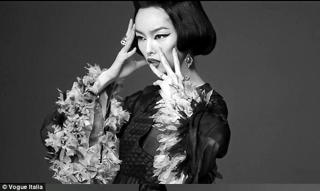 Fei Fei lands Vogue Italia cover.