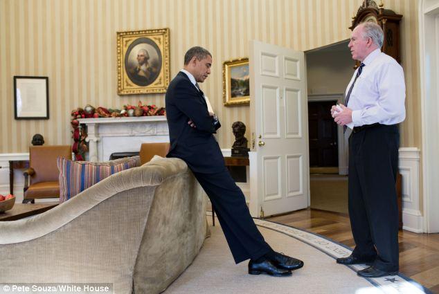 Barack Obama and John Brennan