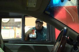 Drive thru invisible driver prank goes viral. A metaphor on the American fast food experience…