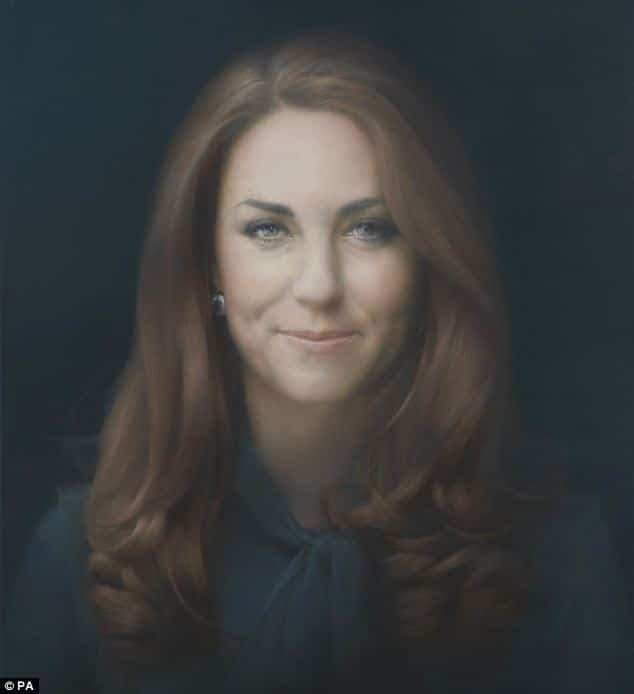 Kate Middleton portrait.