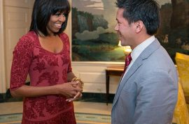 Michelle Obama makes hearts flutter with her new bang hairstyle. But is it a winner?