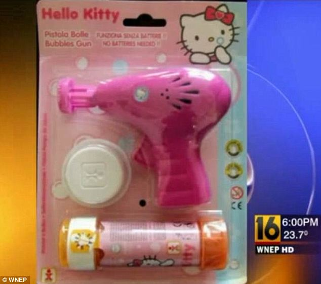 Hello Kitty toy gun
