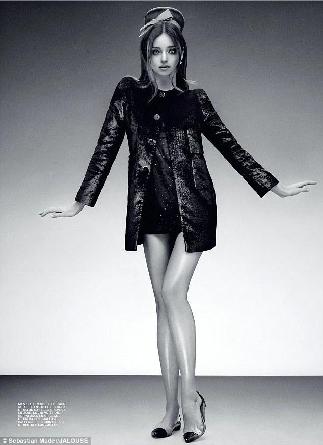 Miranda Kerr for JALOUSE magazine