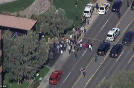 Phoenix gunman shoots three, one critically at complex. Still at large.