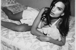 And this is supermodel Emily Ratajkowski's nude photo shoot…