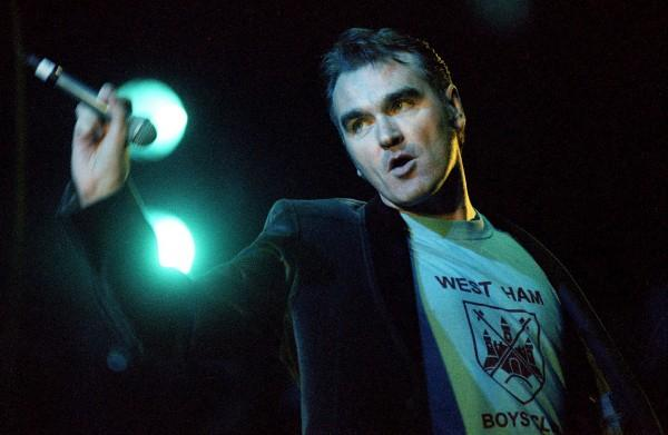 Morrissey does not approve of our love for the Beckhams. Insufferable buffoons…