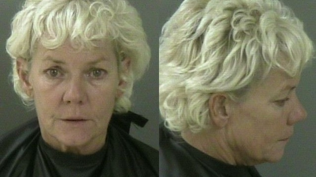Oh really? Florida woman who catches her husband cheating takes dump on floor.