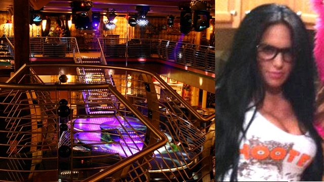 Stripper who crash landed on her head lap dancing now dead.