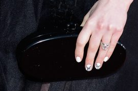 Anne Hathaway's nails cause heads to turn at SAG awards.
