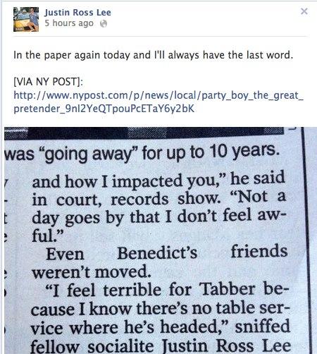 Tabber Bennedict