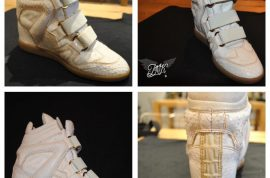 Beyonce's animal skin shoes slammed by PETA.