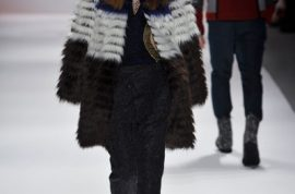 Custo Barcelona Fall/Autumn 2013/14. Fierce and furry works.