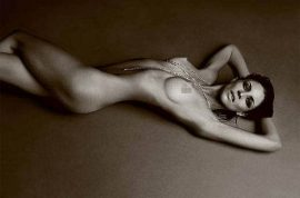 Here's Liberty Ross naked for LOVE magazine.