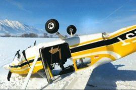 Video: Utah plane crash caught live as man and family prepare to die.