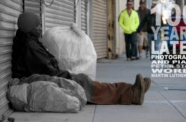 Homelessness on Skidrow, Los Angeles. A photographic ensemble: 100 years later.