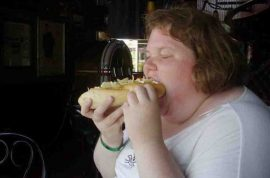 Sam Brittle can't find a job cause employers think she's too fat.