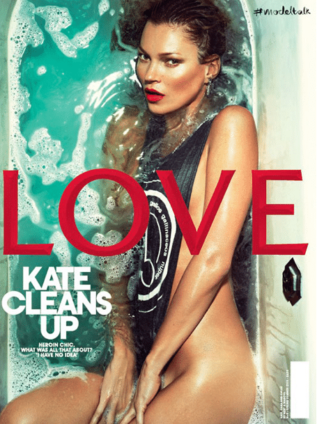 Kate Moss for LOVE magazine.