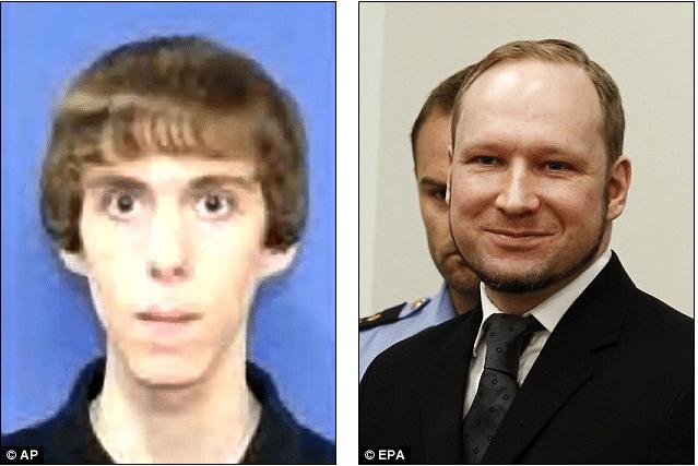 Adam Lanza, Anders Breivik