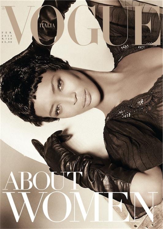 Vogue Italia February 2013 Naomi Campbell