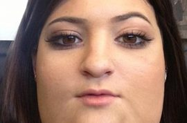 Oh really? Kendall and Kylie Jenner tweet super fat photos of themselves.