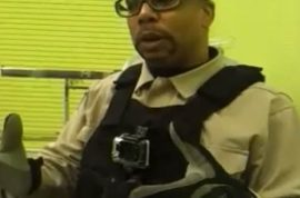 Atlanta Security guard has $20 000 raised after he tasers violent mother.