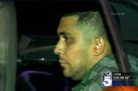 Father arrested after leaving 2 year old daughter in parking lot whilst he drank at strip club.