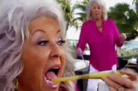 Did Paula Deen turn up drunk on the Today show?
