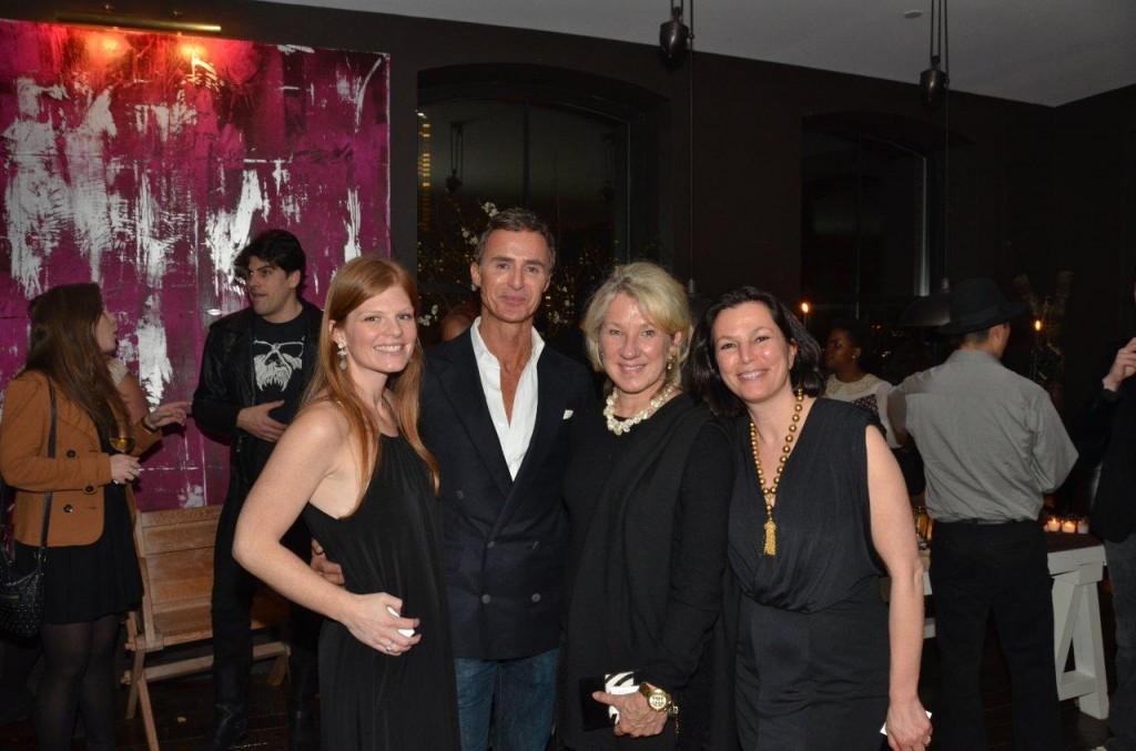 Meghan White, Anthony Todd, Carolyn Englefield, Dara Caponigro