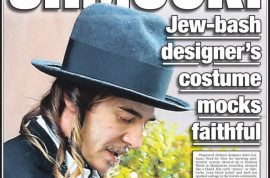 John Galliano's Hasidic Jewish inspired clothing confuses and shocks the NY Post.