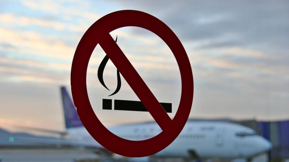 Canadian family arrested after insisting on chain smoking