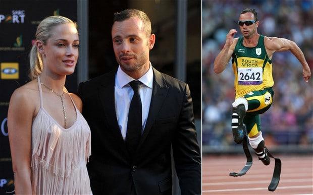Reeva Steenkamp and Oscar Pistorius,