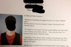 South Korean job seeker cover letter goes viral cause it's damn awful and desperate.