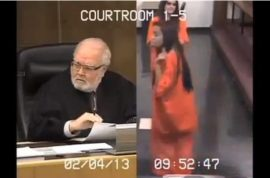 18 year old teenager flips out on judge and gets 30 days for aggravating him.