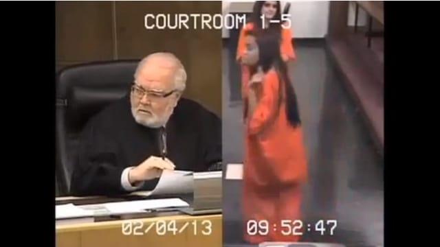 Judge Jorge Rodriguez-Chomat and Penelope Soto