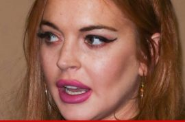 Lindsay Lohan back to locked rehab whilst dad Michael screams at lawyer.