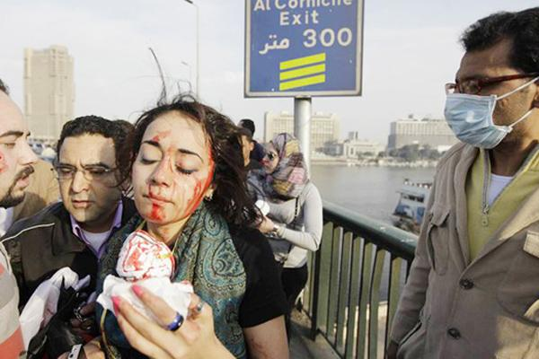 Egyptian woman assaulted